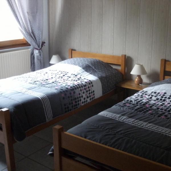 Chambre lits jumeaux jour